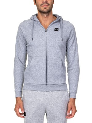 Felpa Training Uomo Rival Full Zip Hoody