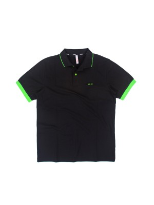 Polo Uomo Small Stripes Fluo