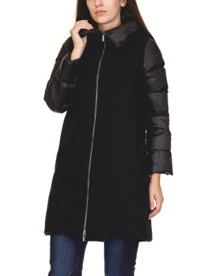 Cappotto Donna Winter Ibrid Coat Lady Senza Cappuccio