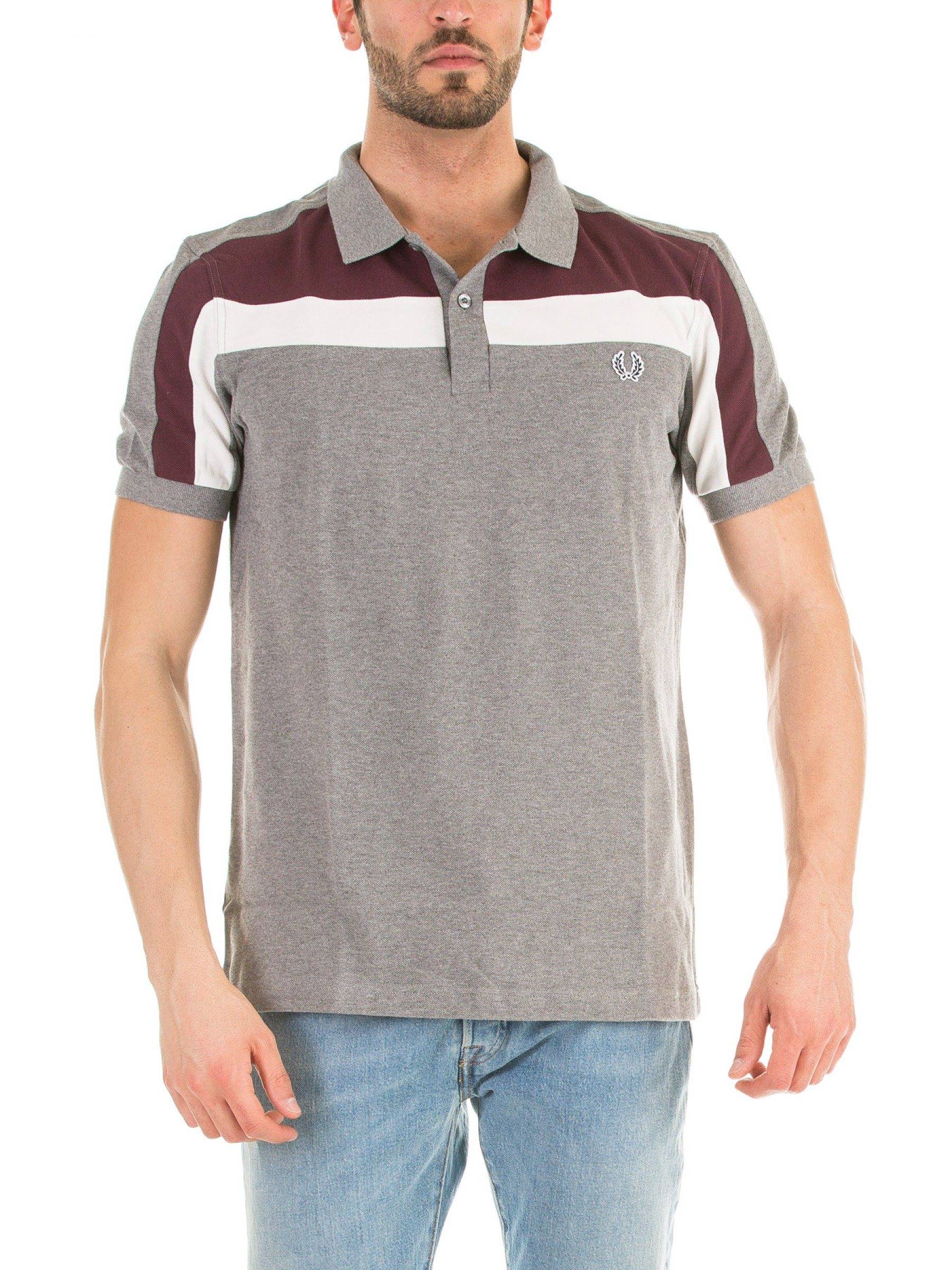 Fred Perry Polo Pique Panel b35c9e77af4