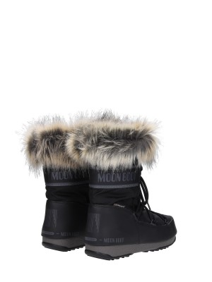 Moon Boot WE Monaco Low  con Pelliccia WP