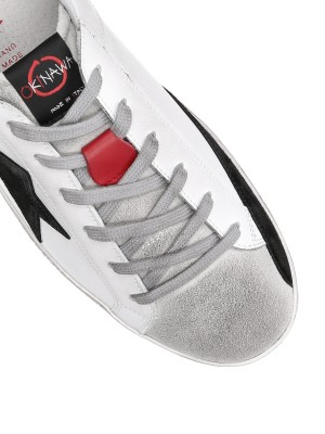 Low Scarpe Sneakers Unisex In Pelle Made in Italy Fatte a Mano